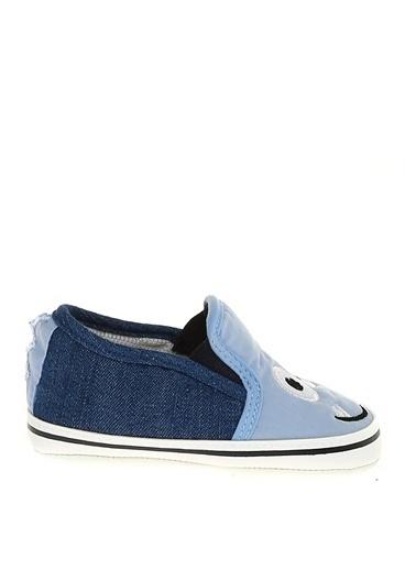 Mammaramma Surat Baskılı Günlük Çocuk Ayakkabı Mavi